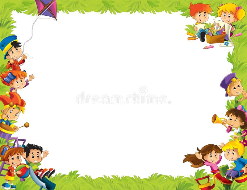 Download The Framing For Misc Usage - With People In Different Age - Small - Teenage - For Children Stock Images - Image: 29086404
