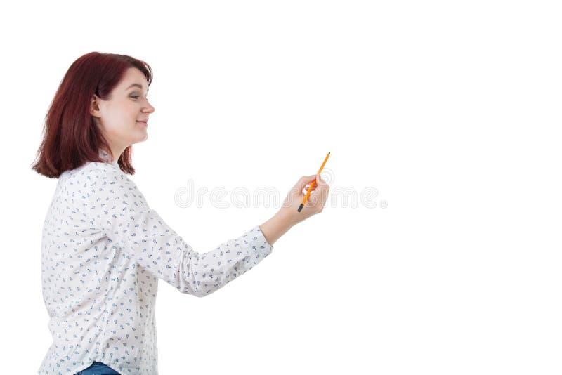 Framkalla hennes spänning arkivfoton