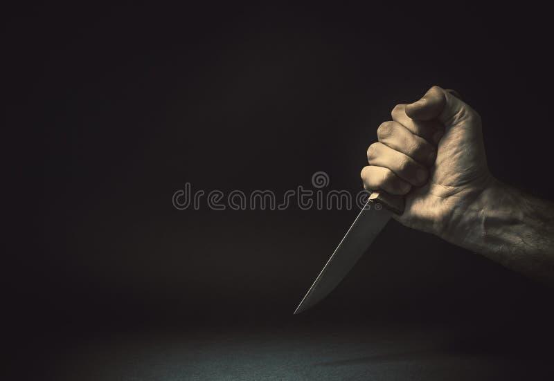 Framme av en kniv arkivbilder