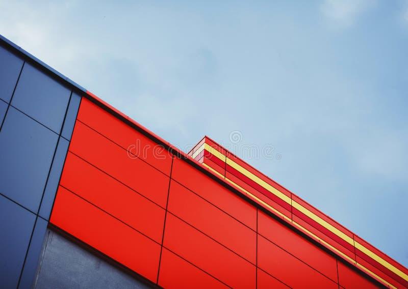Frammento astratto di architettura urbana fotografia stock