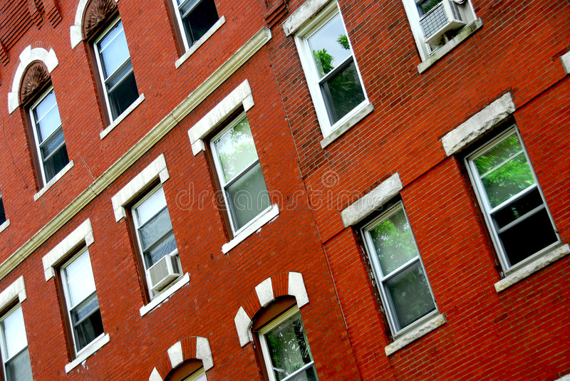 Frammento della casa di Boston fotografie stock