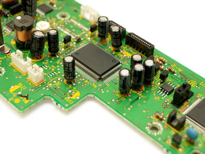 Frammento di un circuito. fotografia stock libera da diritti