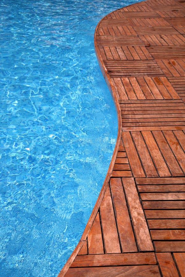 Frammento di una piscina fotografie stock