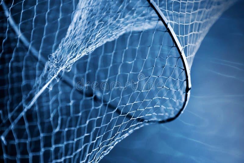 Frammento di vecchia rete da pesca fotografie stock