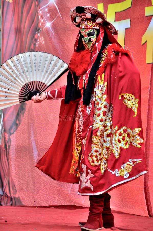 Framsida-ändrande kapacitet på paddafestival arkivfoto