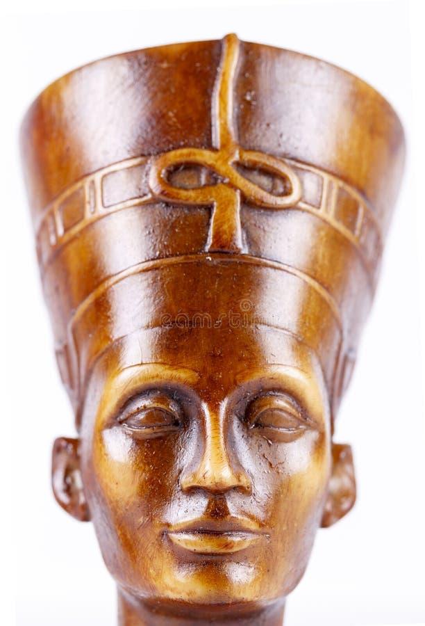 Framsida av statyn av farao royaltyfri bild