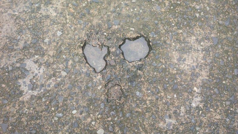 Framsidan från asfalten royaltyfri fotografi