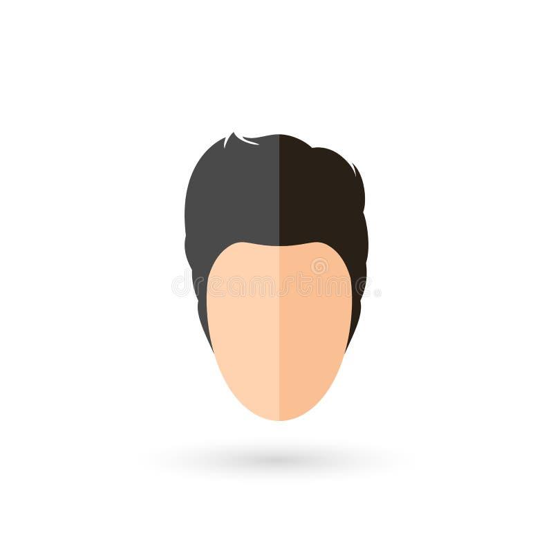 Framsidasymbol stock illustrationer