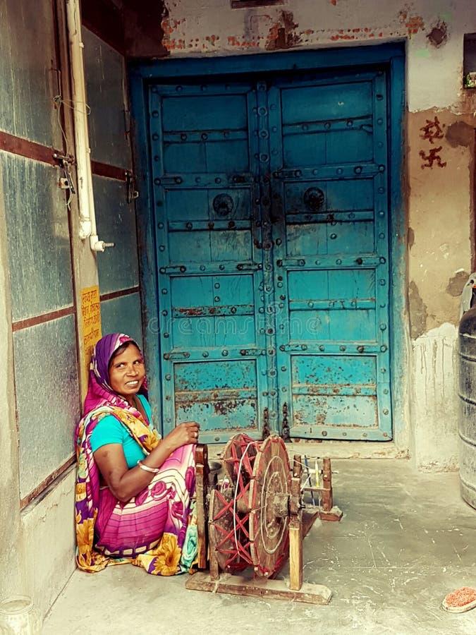 Framsidor av Indien fotografering för bildbyråer
