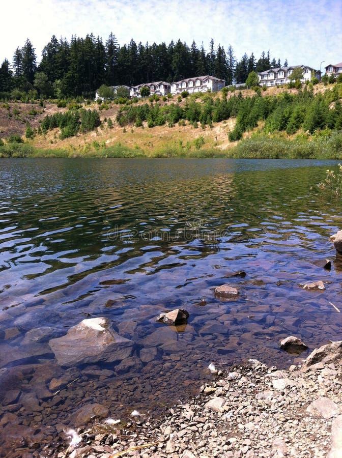 Framsteg Ridge Pond arkivbilder