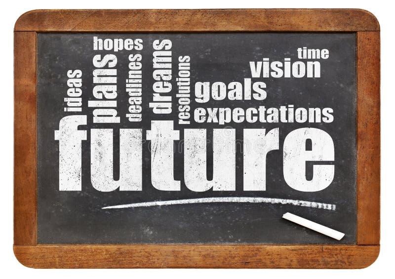 Framtid, drömmar, mål och hopp royaltyfri bild