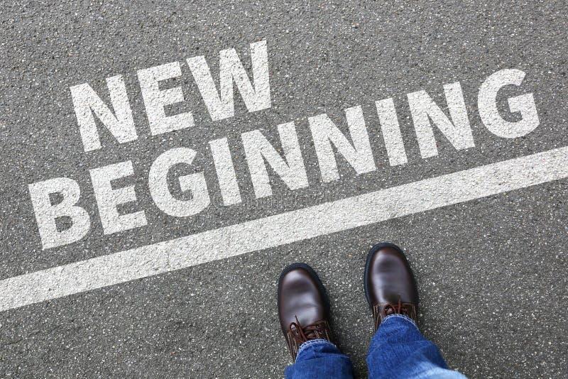 Framtid för liv för nya börjanbörjan gammal förbi målframgångdeci arkivbild