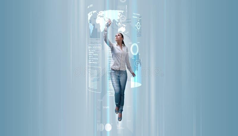 framtida levitation arkivbilder