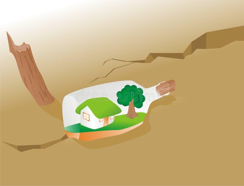 framtida massage till stock illustrationer