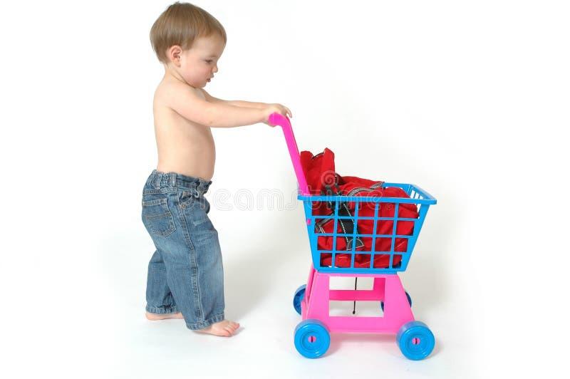 framtida shoppare royaltyfri bild