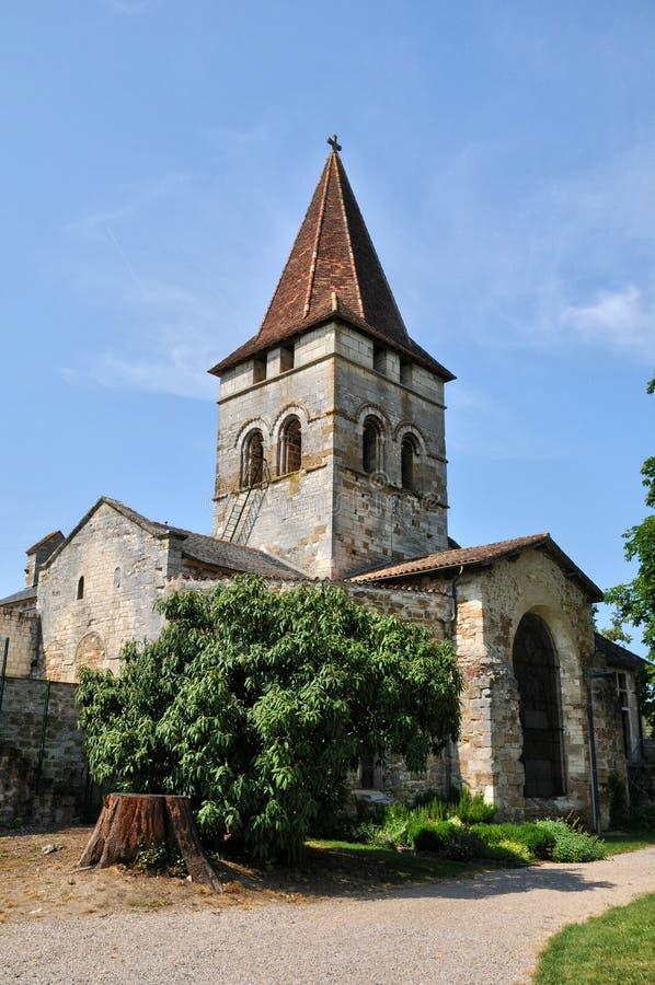 França, vila pitoresca de Carennac no lote fotografia de stock royalty free