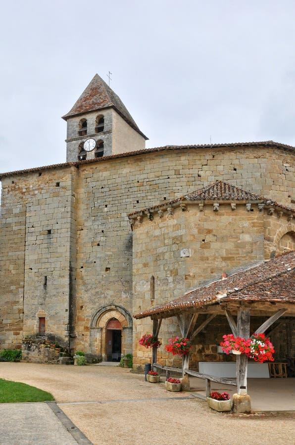 França, vila pitoresca de Saint Jean de Cole imagens de stock royalty free