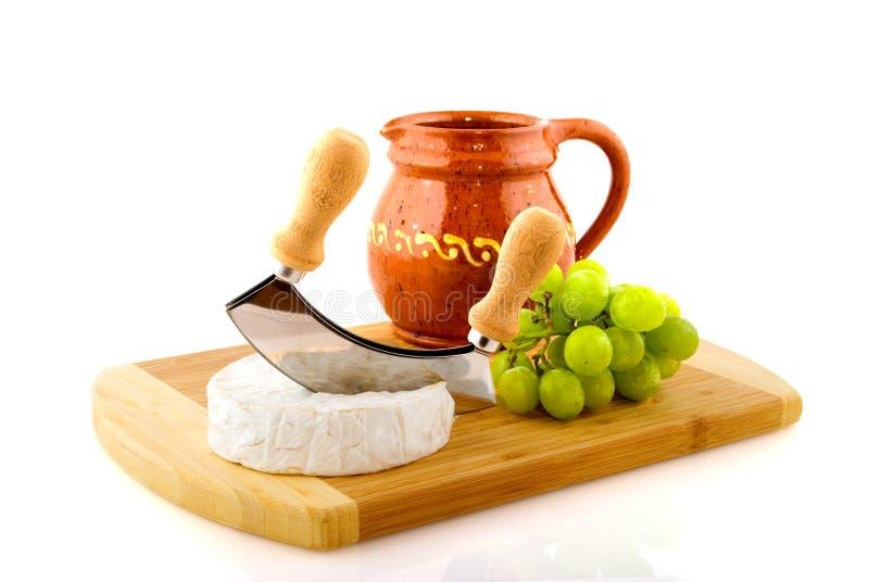 Download Français de fromage image stock. Image du raisins, blanc - 8659687