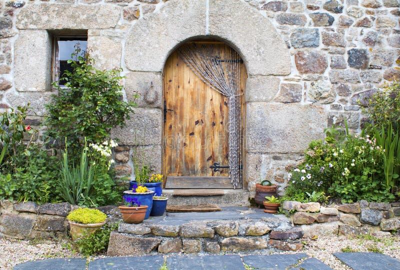 Français rustique Gite en Brittany France photographie stock