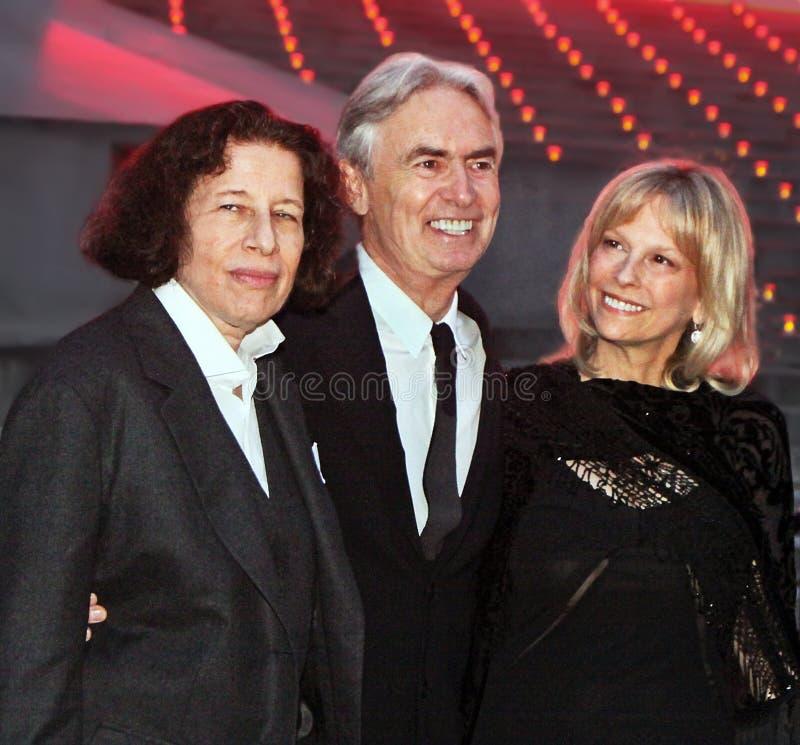 Fran Lebowitz, David Steinberg i Robyn Todd, zdjęcia stock
