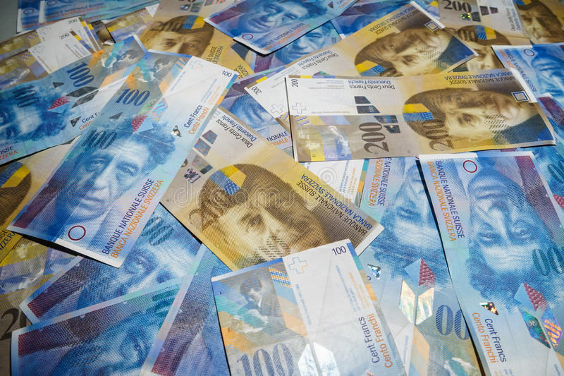 Franc suisse images stock