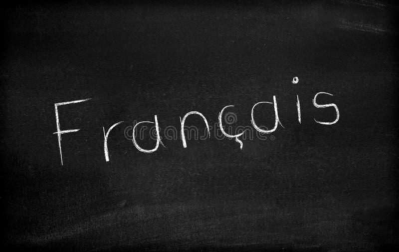 Francais stockbilder