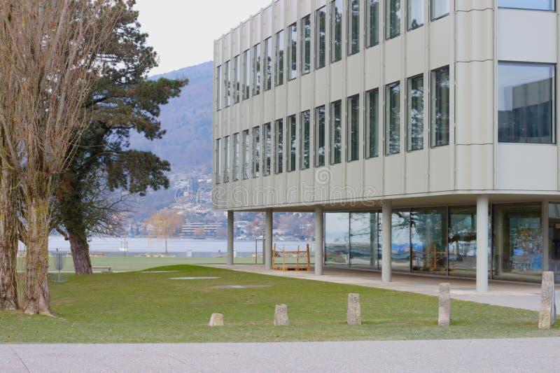 Francais de Bienne Gymnase Σχολείο μέσης εκπαίδευσης Biel στοκ φωτογραφία με δικαίωμα ελεύθερης χρήσης