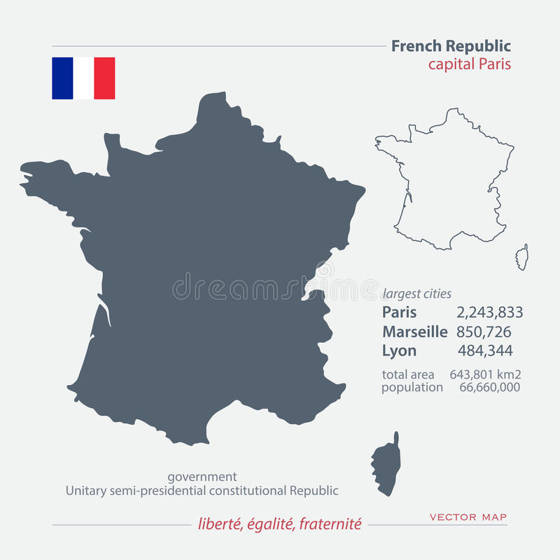 france royaltyfri illustrationer