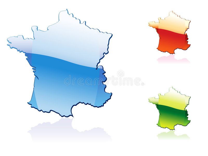 Download France stock vector. Image of land, france, outline, french - 7600968