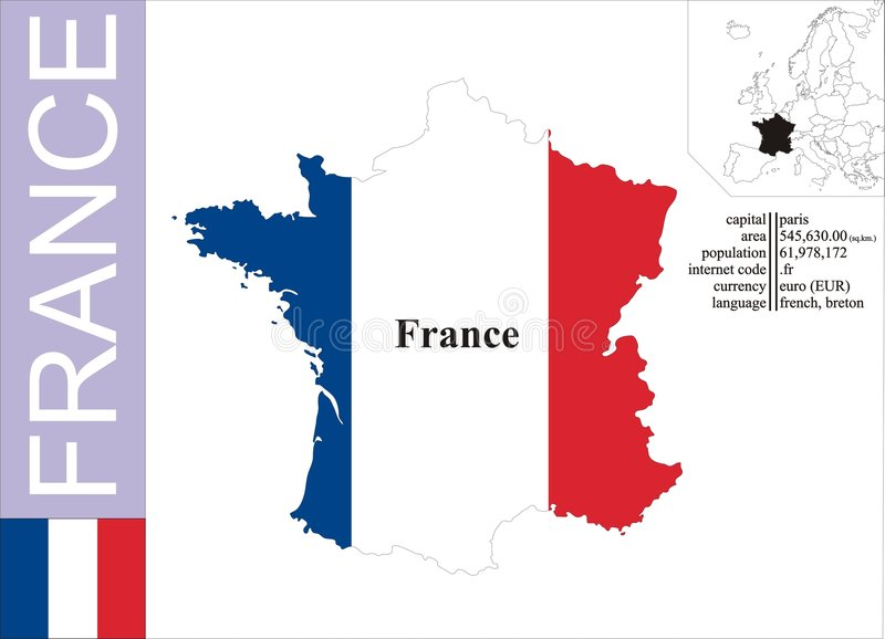 Download France stock vector. Illustration of digital, atlas, backdrop - 8149863