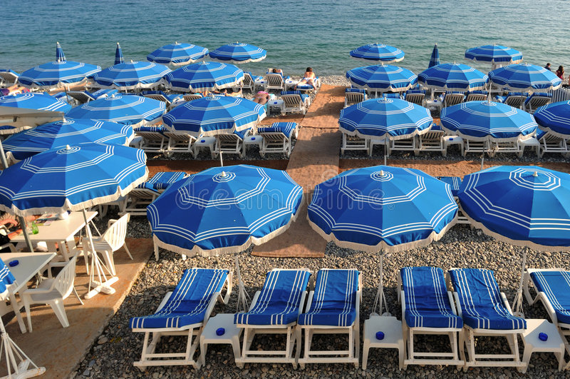 France, agradável: Riviera francês imagem de stock