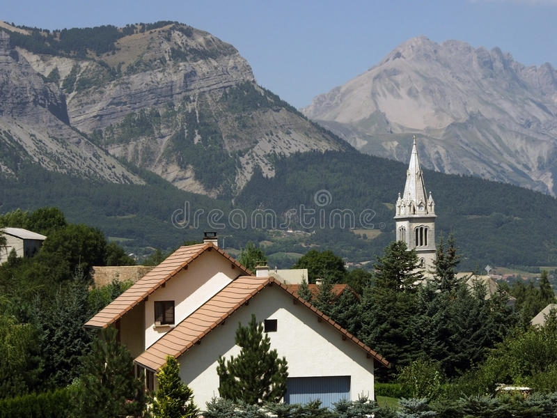 Download France alps haute alpes stock photo. Image of chapel - 19186216