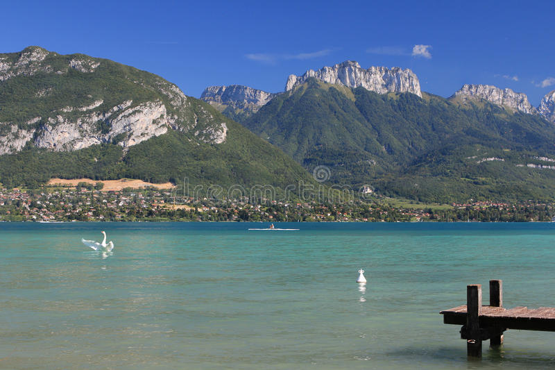 France - Annecy Lake stock photos