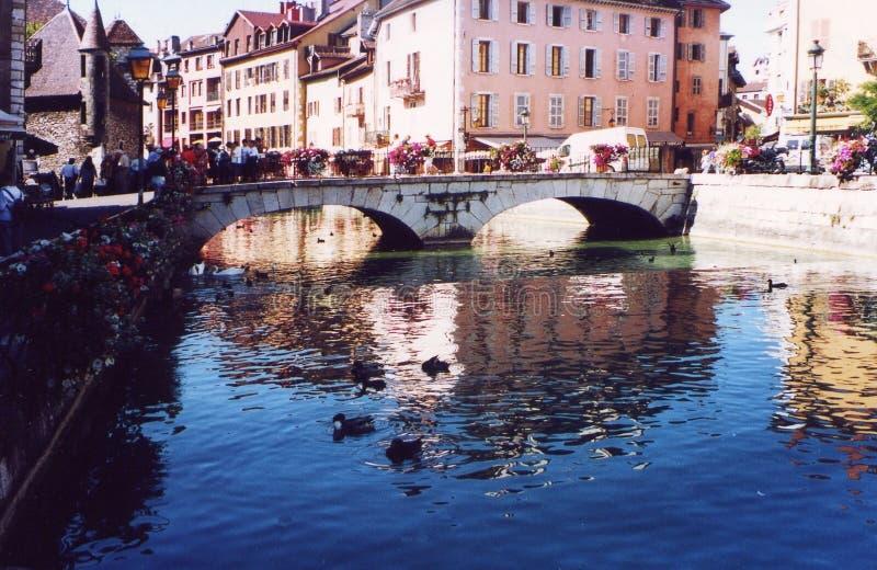 Download France Annecy Savoie Haute Turystów Obraz Stock - Obraz złożonej z mosty, turystyczny: 44847