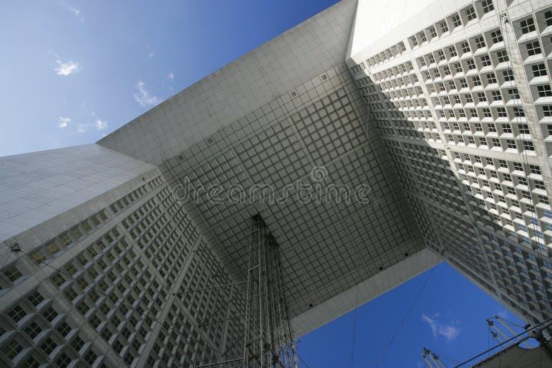 France arche la grande, Paris obraz stock