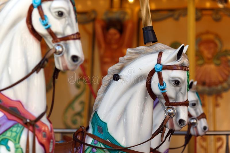 France Avignon Carousel stock photography
