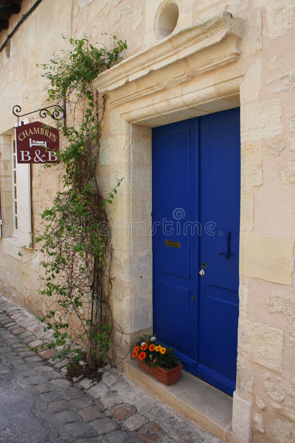 France -B and B front door royalty free stock images