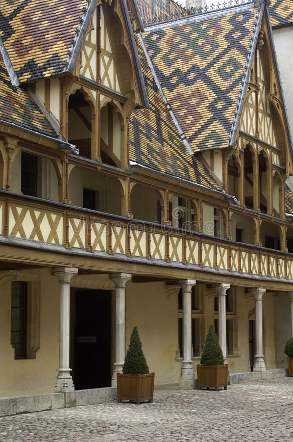 Download France, Burgundy, Beaune stock image. Image of historical - 8390503