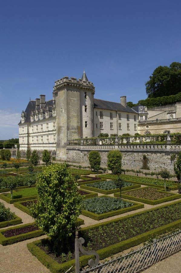 France, Castle Of Villandry Royalty Free Stock Image