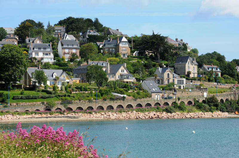 Download France, The City Of Perros Guirec Stock Photo - Image of picturesque, guirec: 29549362