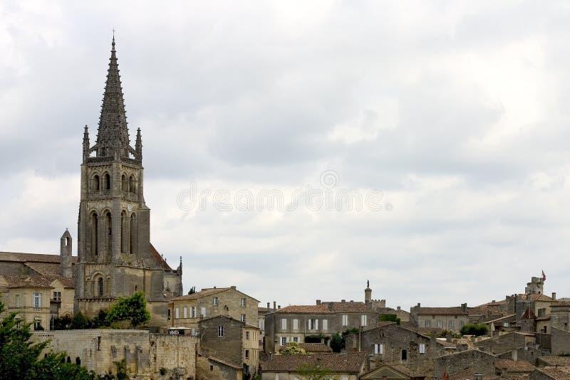 France emilion święty zdjęcie royalty free