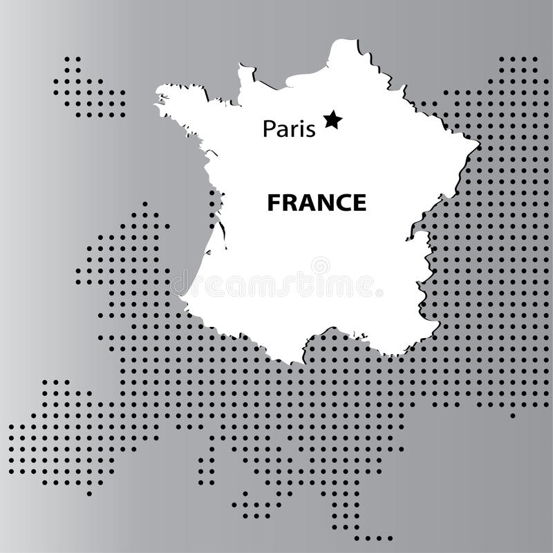 Download France with europe stock vector. Image of nation, continent - 22157688
