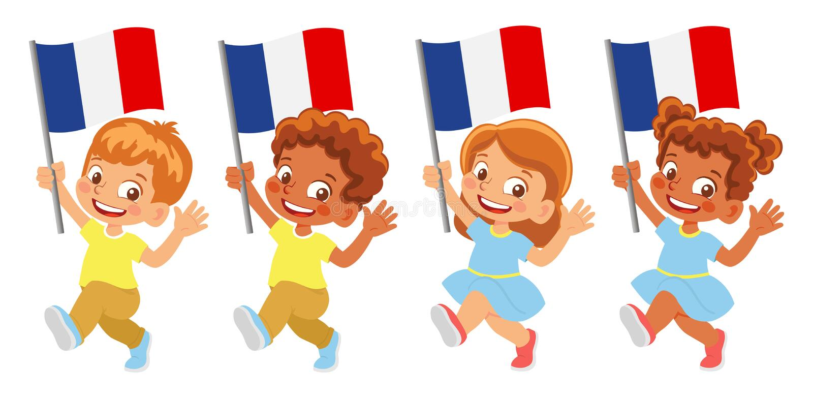 Free French Flag Clipart, Download Free Clip Art, Free Clip Art on Clipart  Library
