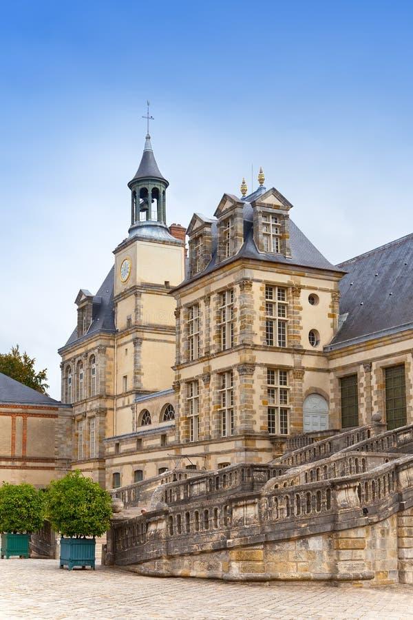 France, Fontainebleau palace stock photos