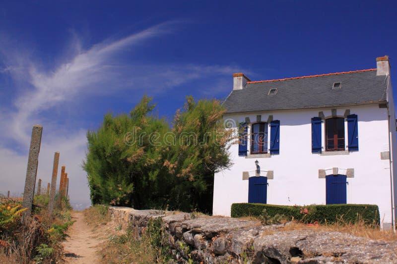 france francuski wakacje dom zdjęcia royalty free