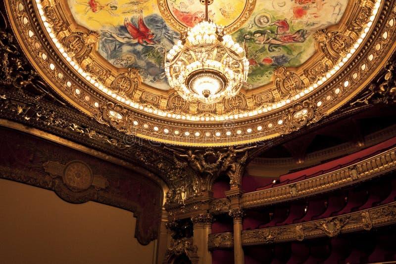 france garnier opery pałac Paris zdjęcie royalty free
