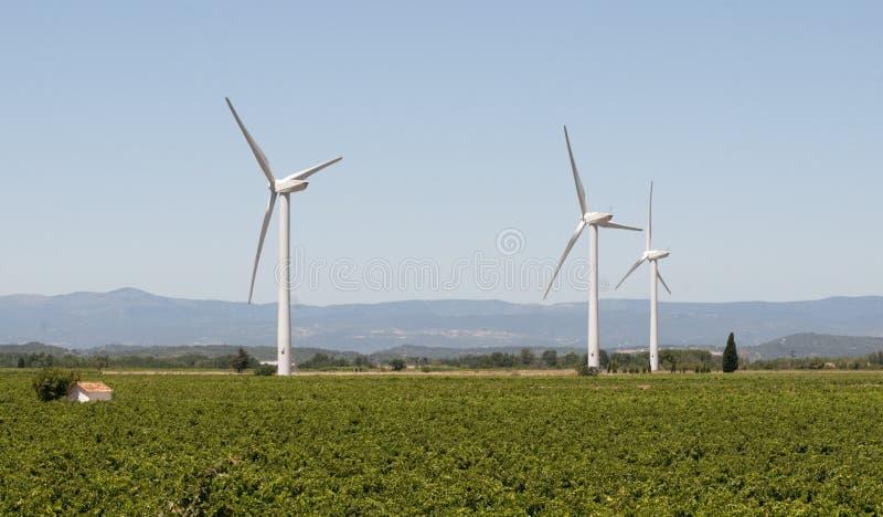 france generatorów wiatr obrazy stock