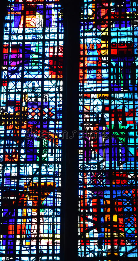 France, the historical cathedral of Beauvais in Picardie royalty free stock photo