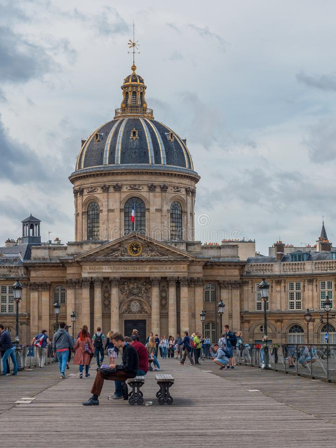 France Institute Institut de France, French Learned Society, Paris, France stock images