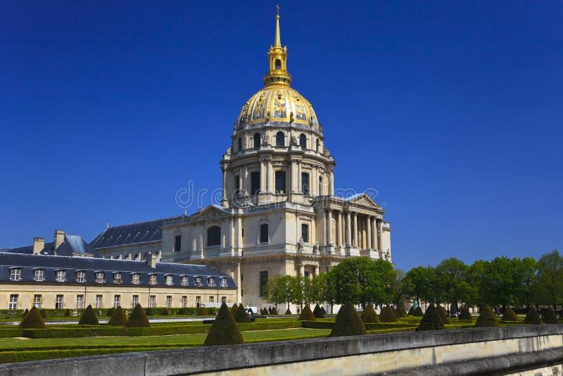 france invalidesles paris royaltyfria bilder